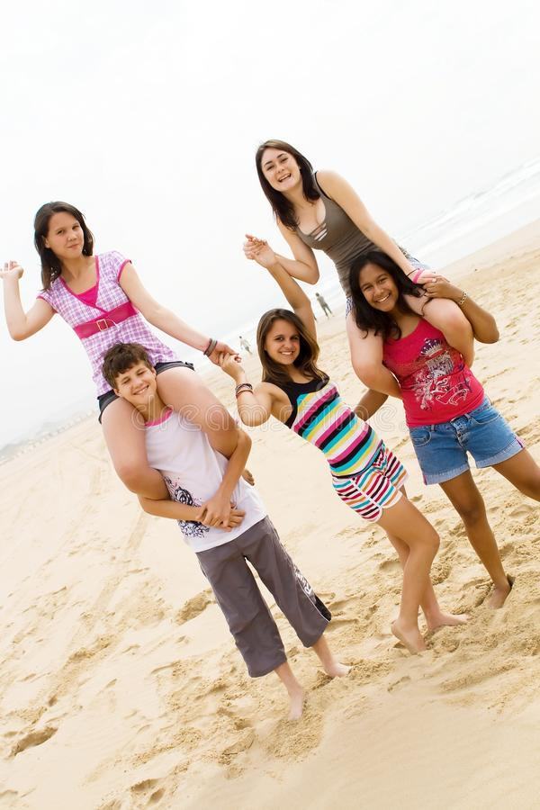 Adolescentes novos imagens de stock royalty free