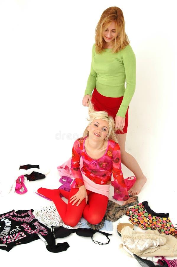 Adolescenti felici variopinti 15 fotografia stock