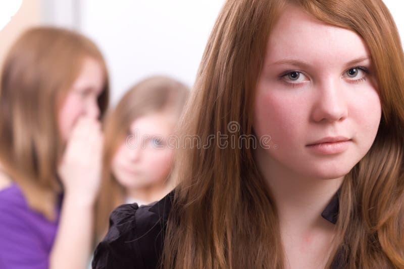 Adolescenti nella crisi fotografia stock