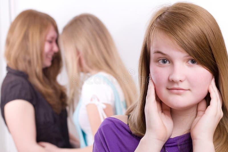 Adolescenti a vita immagine stock libera da diritti