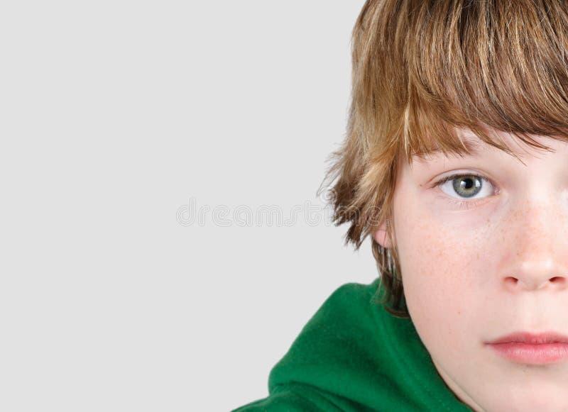 Adolescentiejongen royalty-vrije stock foto