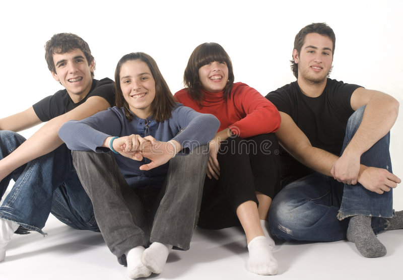 Adolescents stock photography