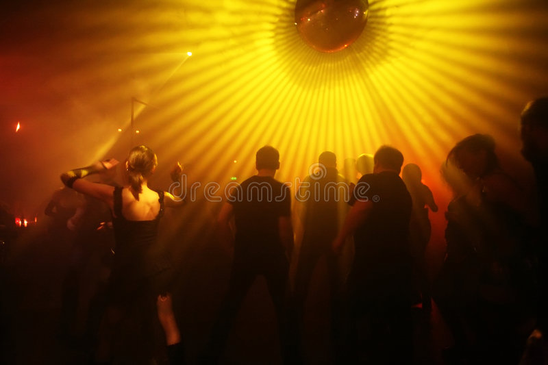 Adolescents de danse photographie stock