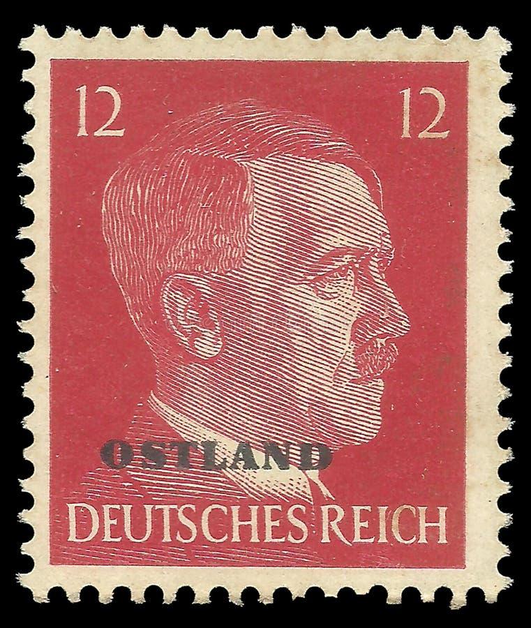 Adolf Hitler, Ostland fotografia stock