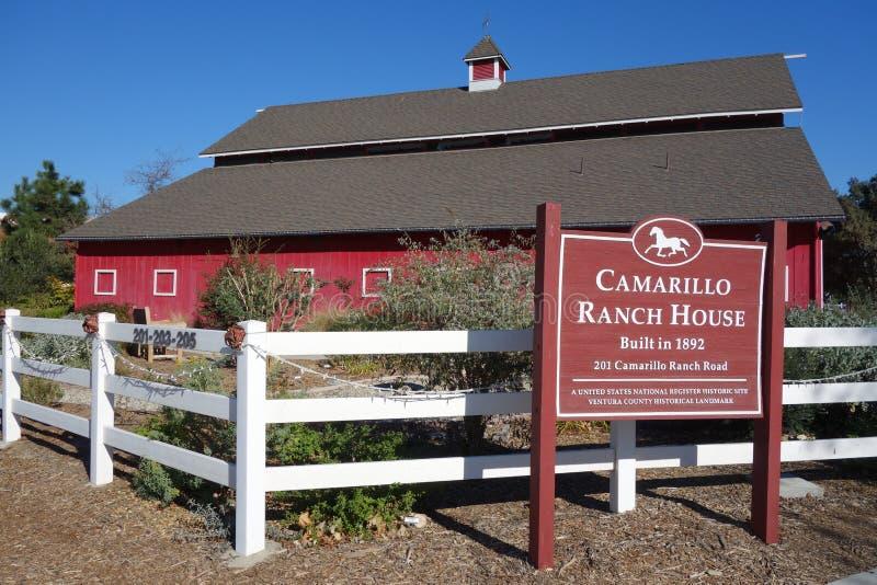 Adolfo Camarillo rancho dom zdjęcie stock