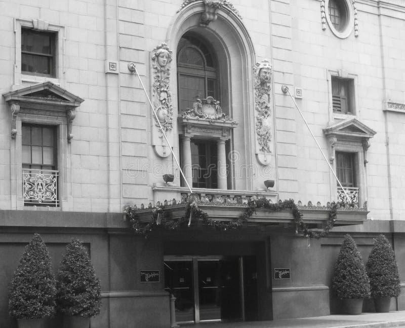 Adolphus Hotel - Dallas, TX foto de archivo