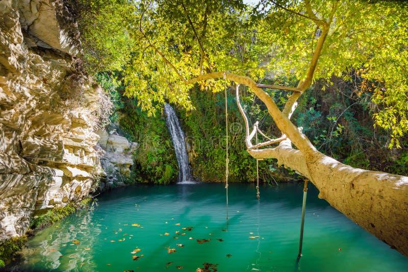 Adonis skąpania na Cypr zdjęcia royalty free