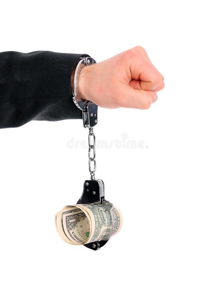 Adonné à l'argent images libres de droits