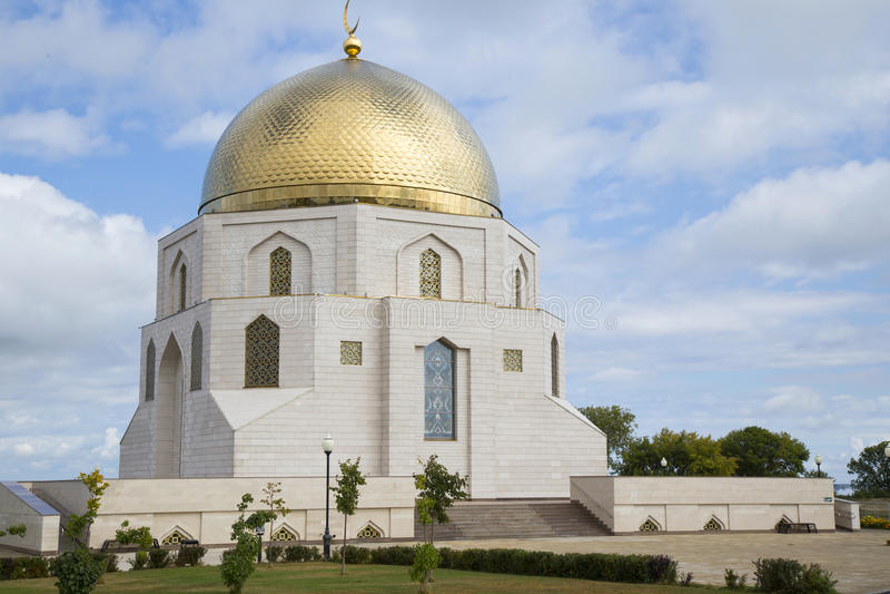 Adopción conmemorativa del ` de la muestra del monumento del ` del Islam, Bolgar foto de archivo