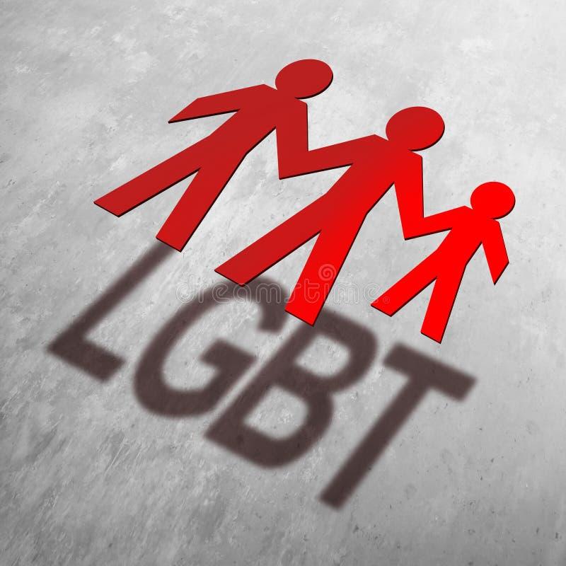 Adopción de LGBT libre illustration