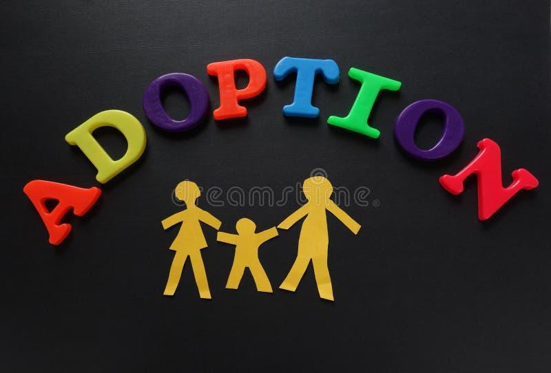 Adopcja listy fotografia royalty free