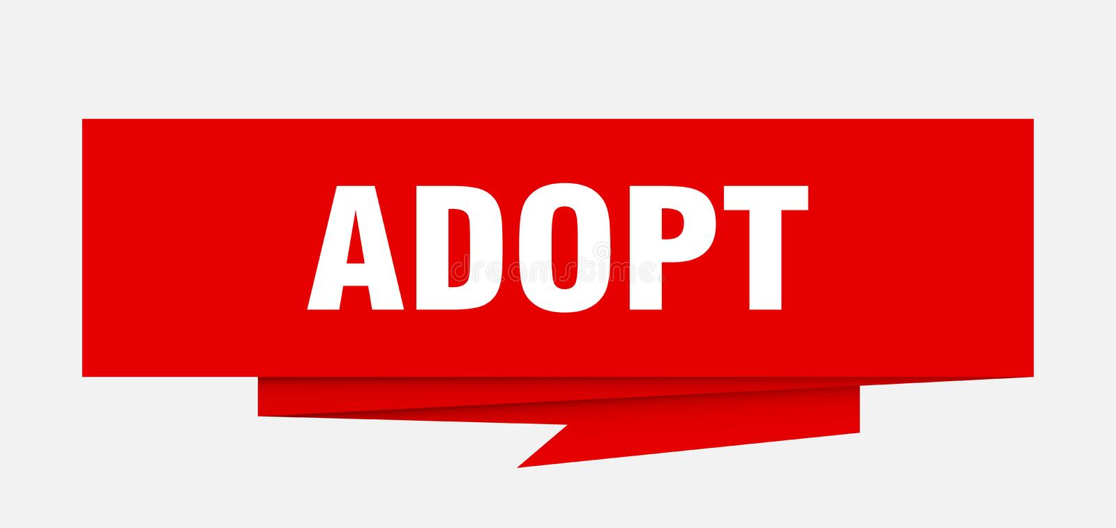 adopt stock illustratie