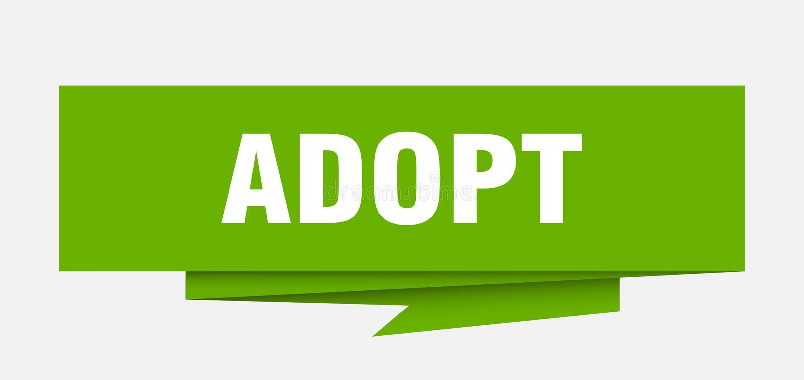 adopt vector illustratie
