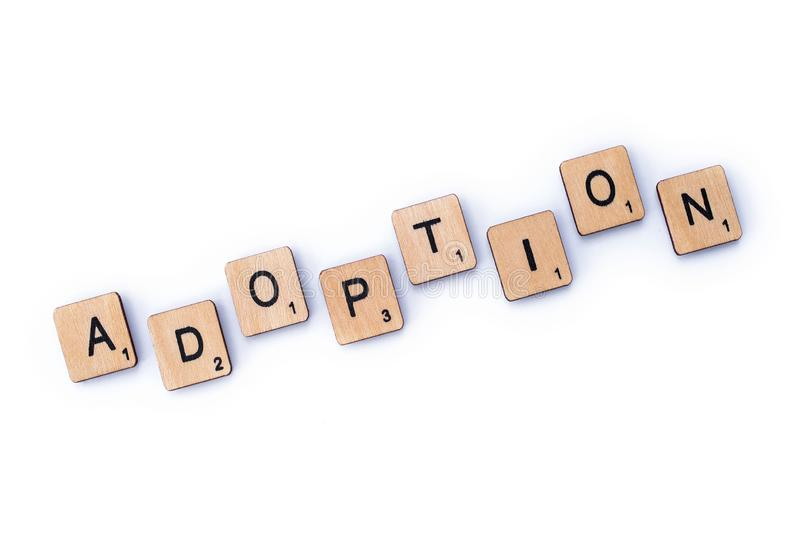 adoption imagens de stock royalty free
