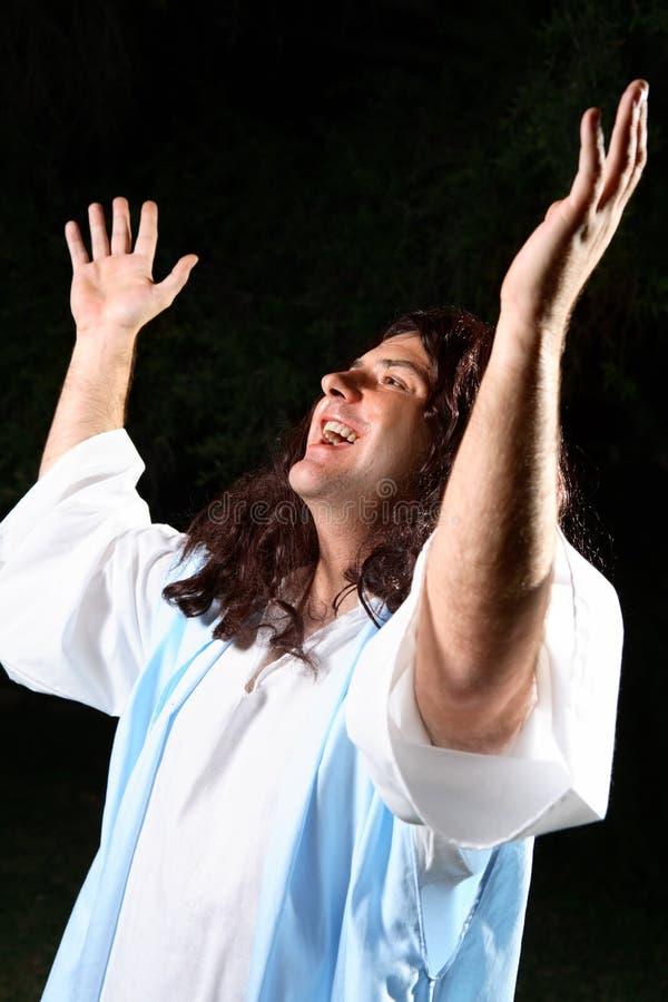 Adoração espiritual fotografia de stock royalty free