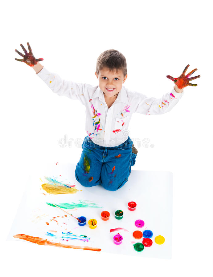 Download Adorable 3 year old boy stock image. Image of male, human - 16660655