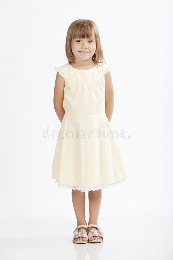 Download Adorable 5 Years Old Girl Standing Royalty Free Stock Photo - Image: 16248735