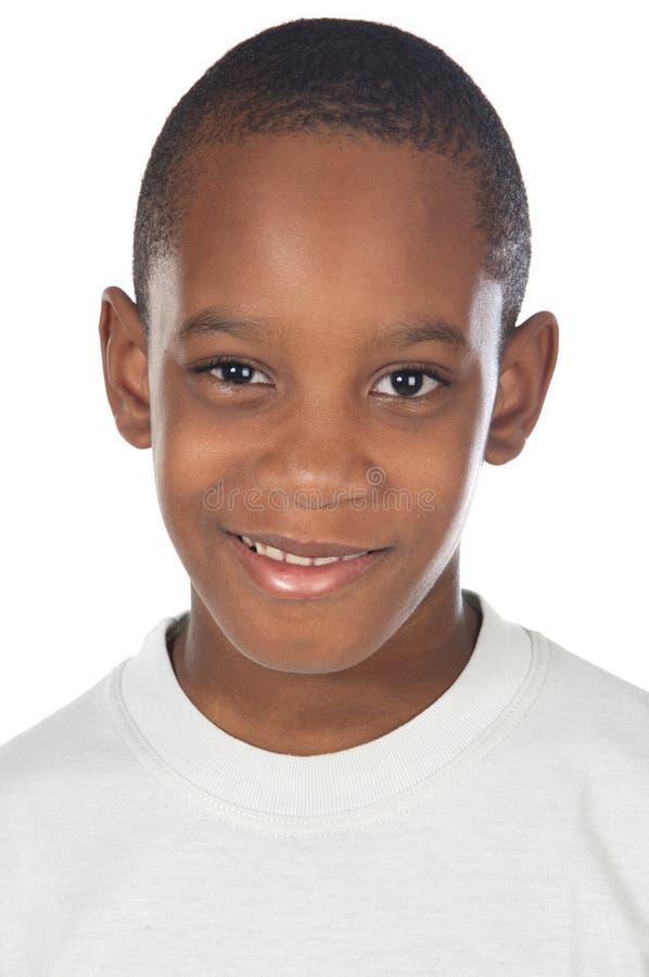 Adorable African boy stock photography