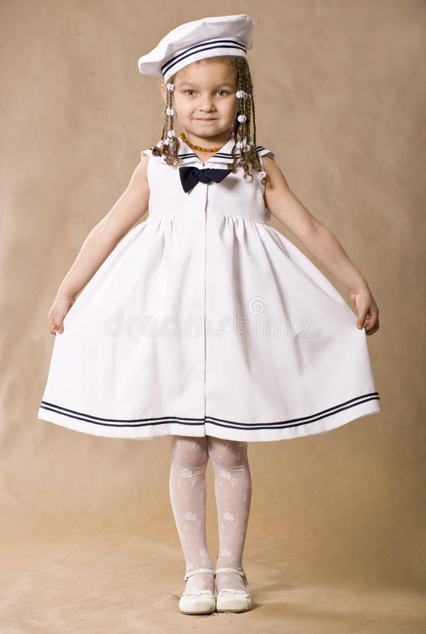 Download Adorable African Little Girl. Retro Style Studio S Stock Photo - Image: 21988850