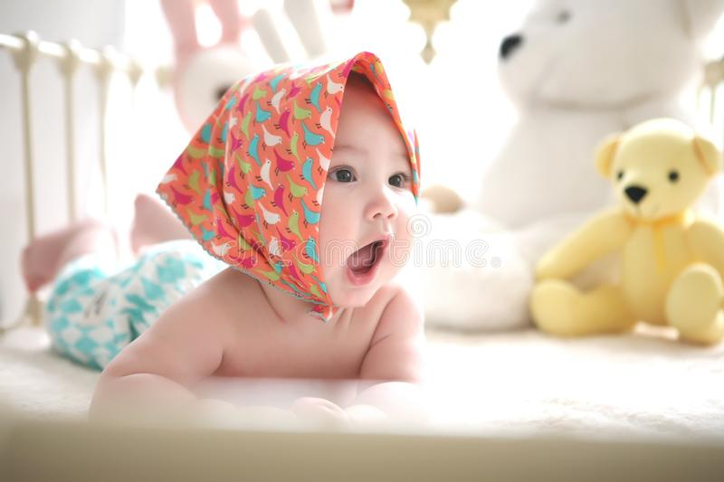 Adorable, Baby, Beautiful royalty free stock images