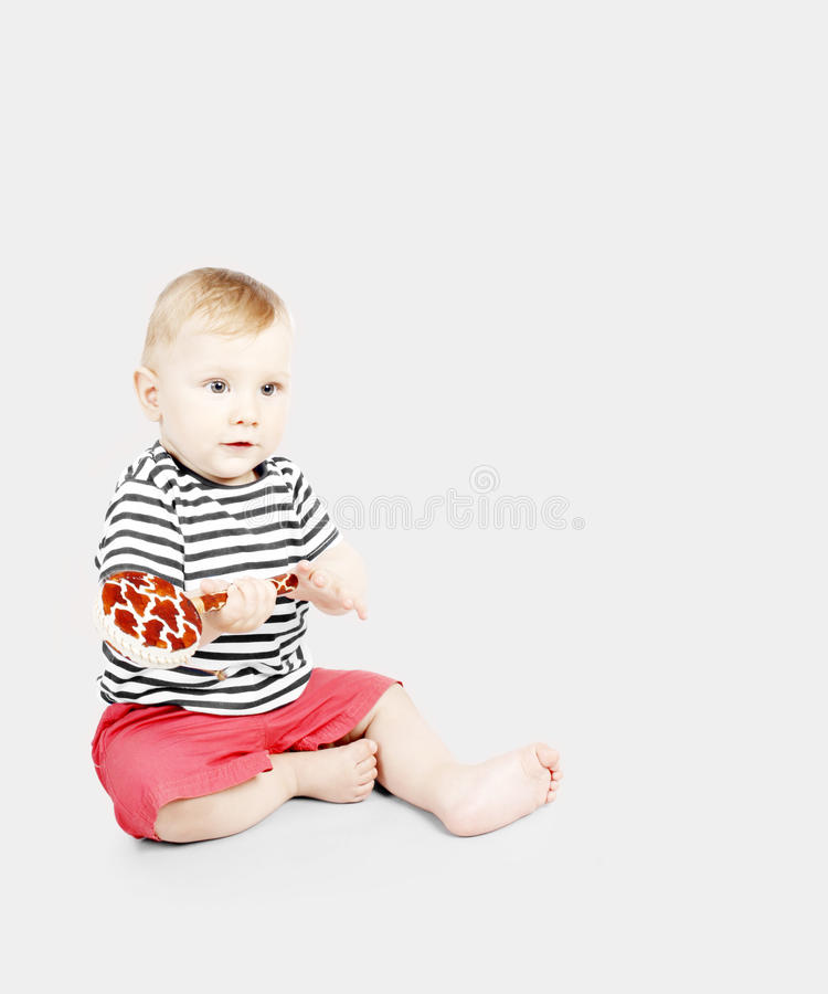 Download Adorable baby boy stock photo. Image of infant, living - 21305754