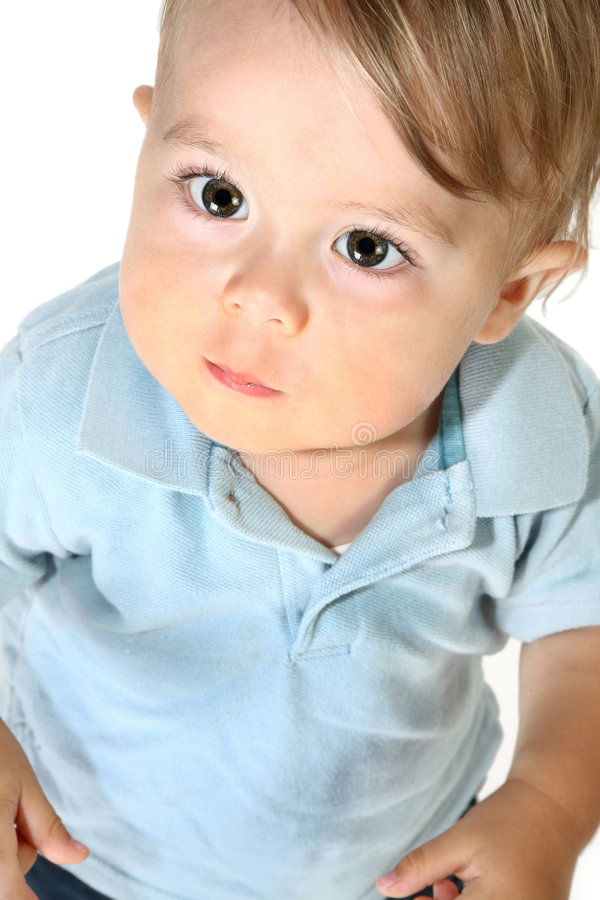 Adorable Baby Boy stock images