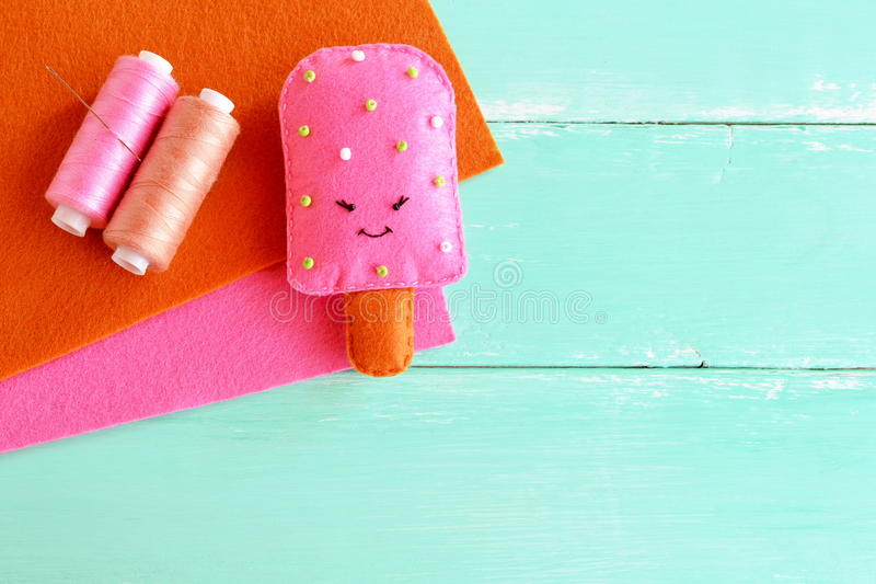 Download Adorable Felt Ice Cream Toy Play Food Pattern DIY