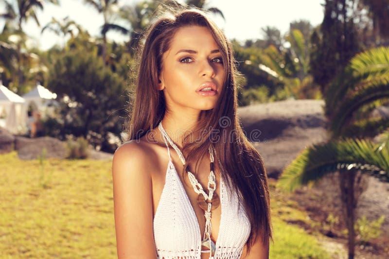 Adorable Girl In Bikini Stock Photography
