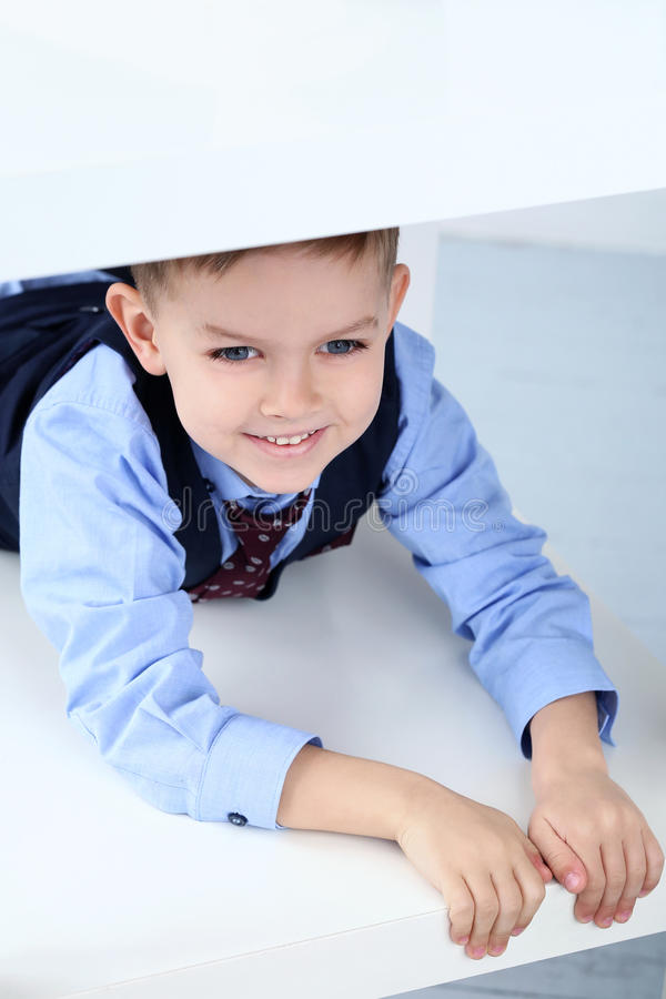 Download Adorable Kid In Costume Stock Photo - Image: 42187607