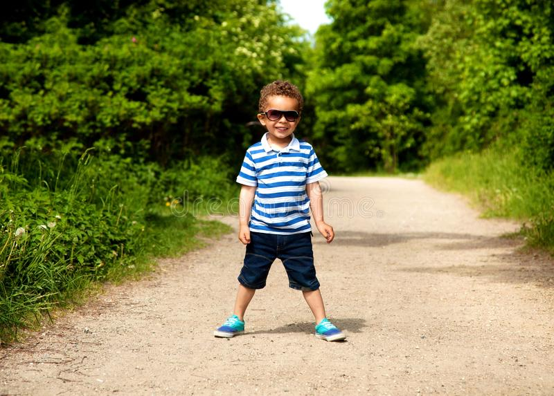 Download Adorable Kid Excited For Vacation Stock Images - Image: 26078184