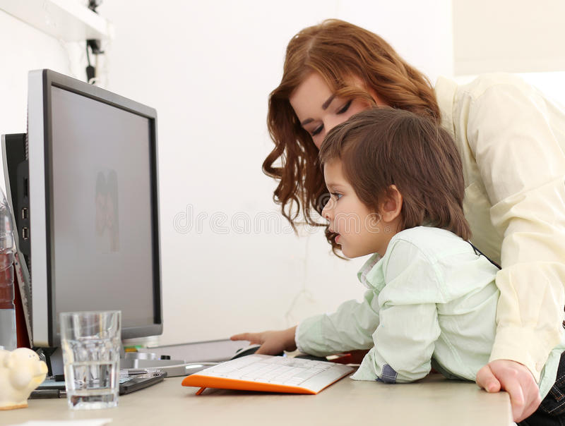 Download Adorable Kid And Mother Stock Photos - Image: 38171423