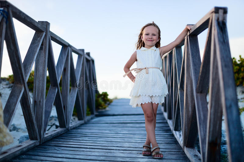 Download Adorable Little Girl Outdoors Stock Photo - Image: 34356440