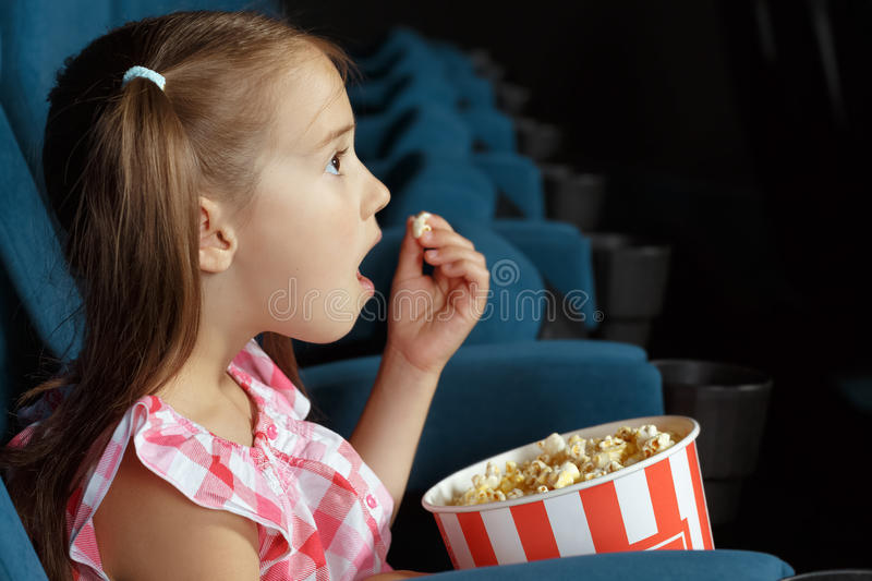 little girl strangle cinema