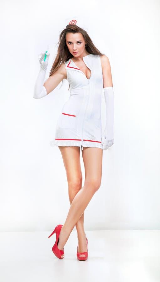 Download Adorable Nurse In High Heels Stock Photo - Image: 22822812