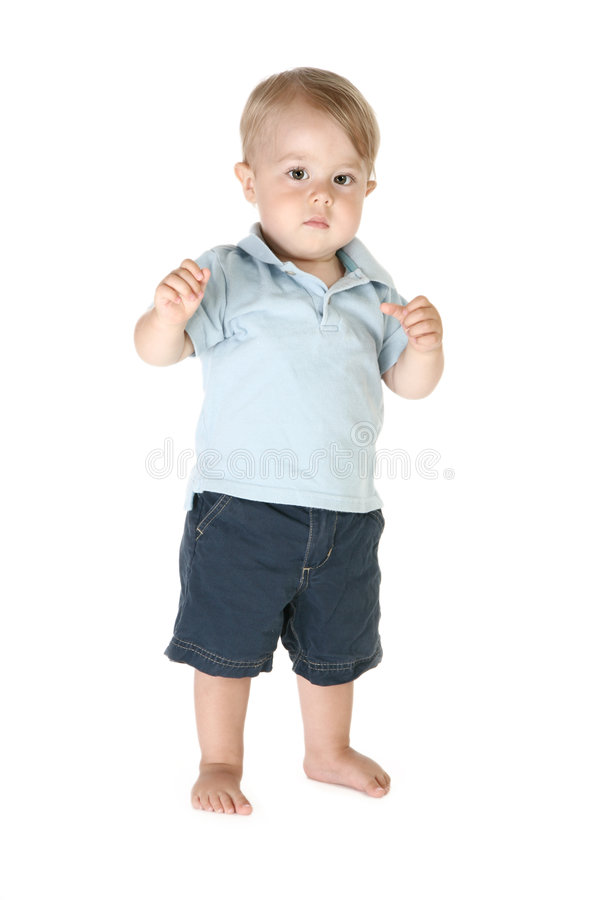 Adorable One Year Old stock photos