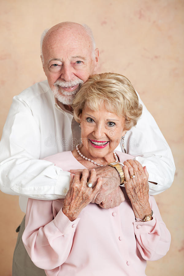 Download Adorable Senior Couple In Love Stock Image - Image: 28591991