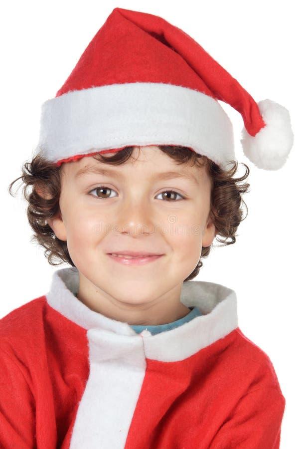 Free Adorable Small Santa Stock Photography - 2781642