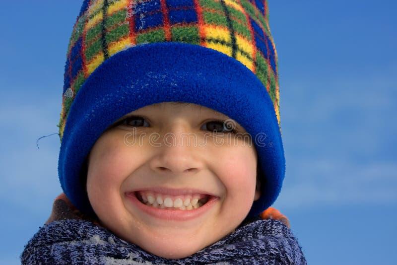 Adorable young boy royalty free stock photos