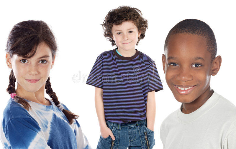 Adorables children stock image