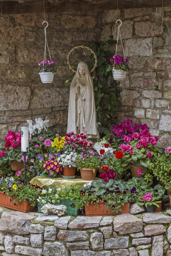 Adoración de Maria imágenes de archivo libres de regalías