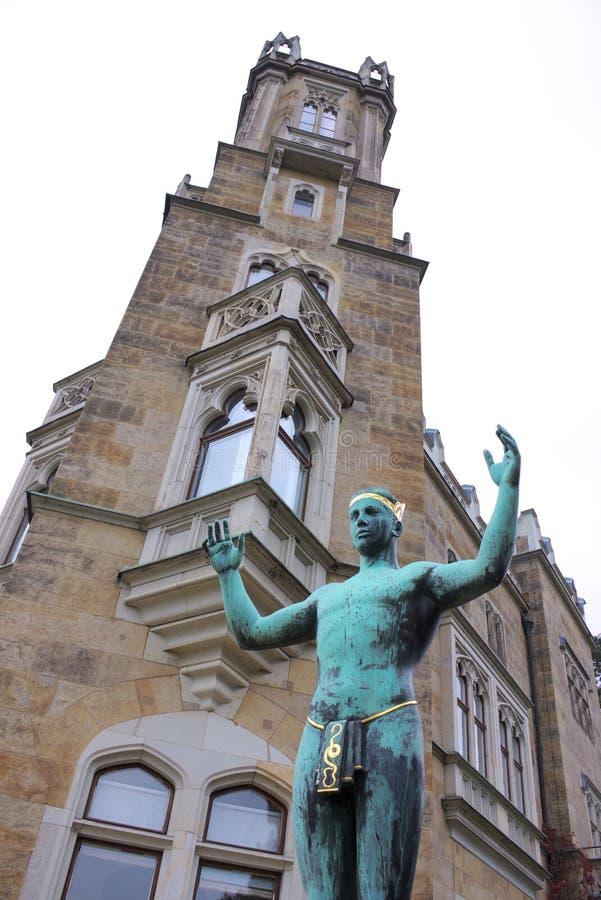 Adorateur de Sun - II - château Eckberg - Dresde - Allemagne images libres de droits