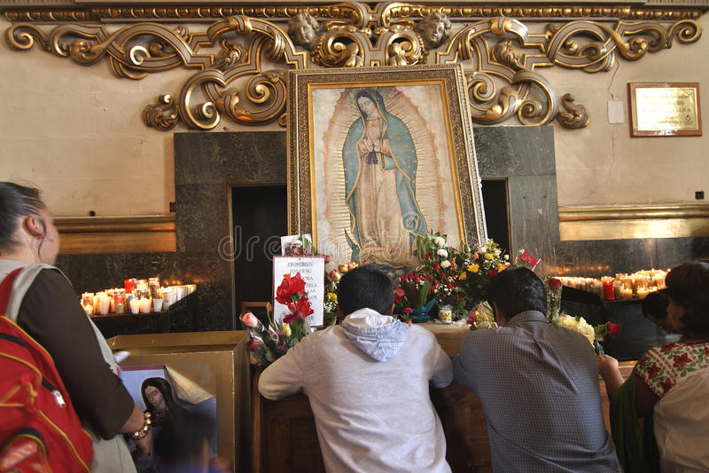 Adoration of the Virgin royalty free stock photos