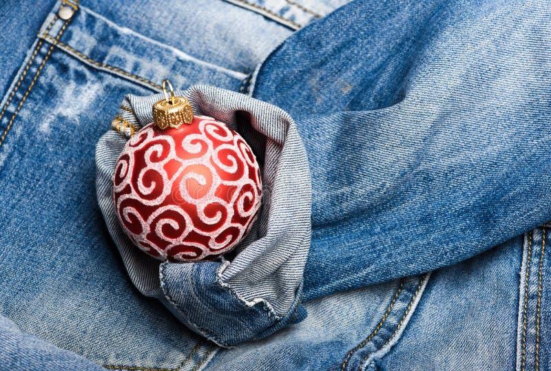 Adorne el juguete tradicional del árbol de navidad Generación moderna celebrar Año Nuevo y la Navidad Celebre la Navidad Bola foto de archivo libre de regalías