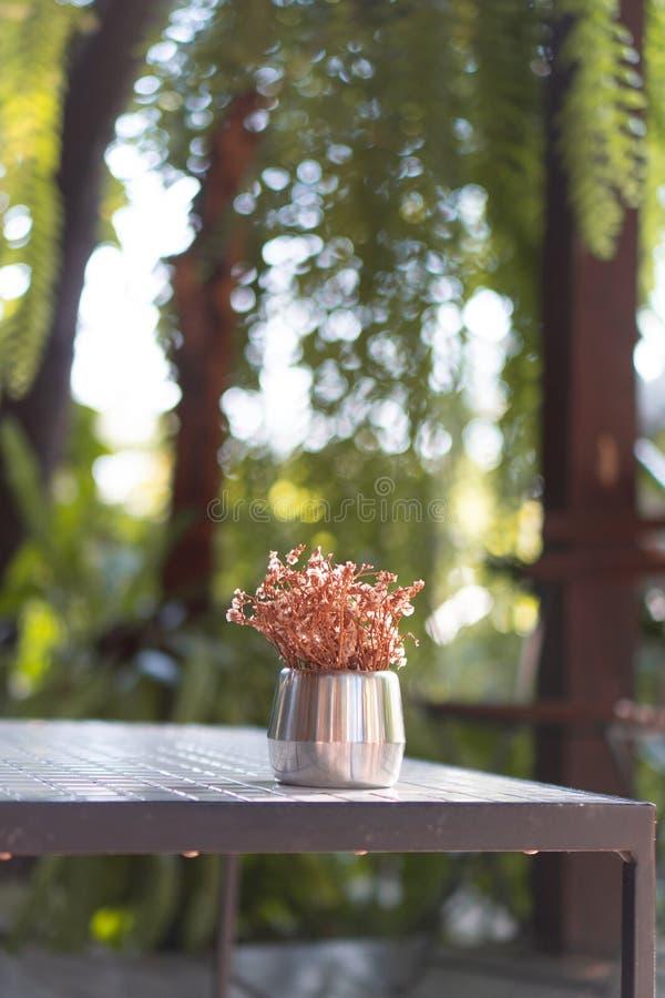 Adorne su hogar y jardín con un florero fotos de archivo