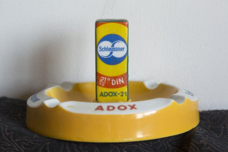 ADOX filma los objetos de recuerdo fotos de archivo