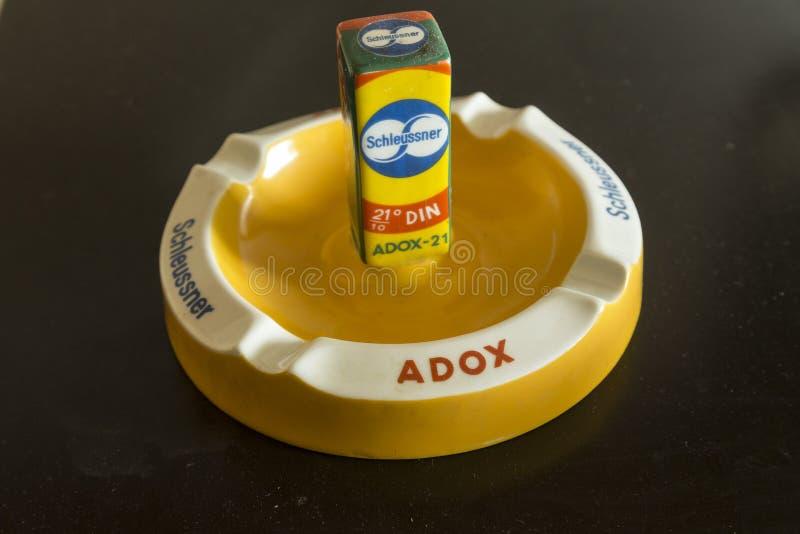 ADOX filma los objetos de recuerdo fotografía de archivo