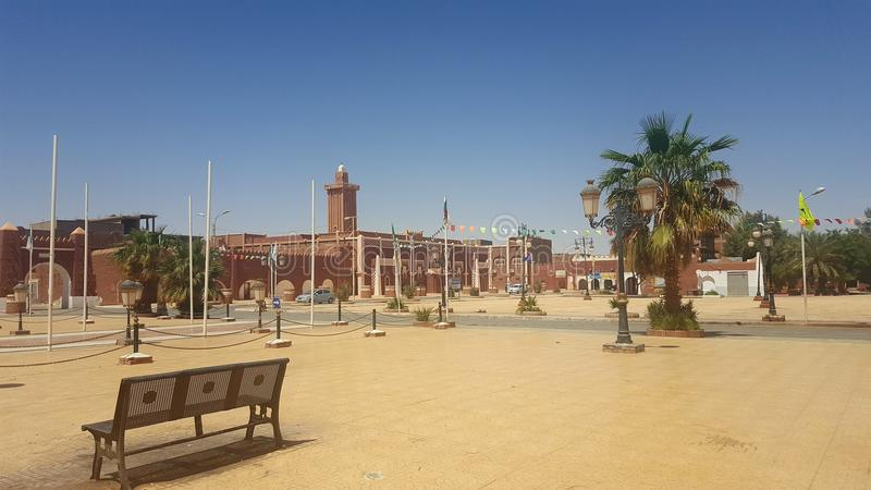 Adrar-Stadt lizenzfreies stockfoto