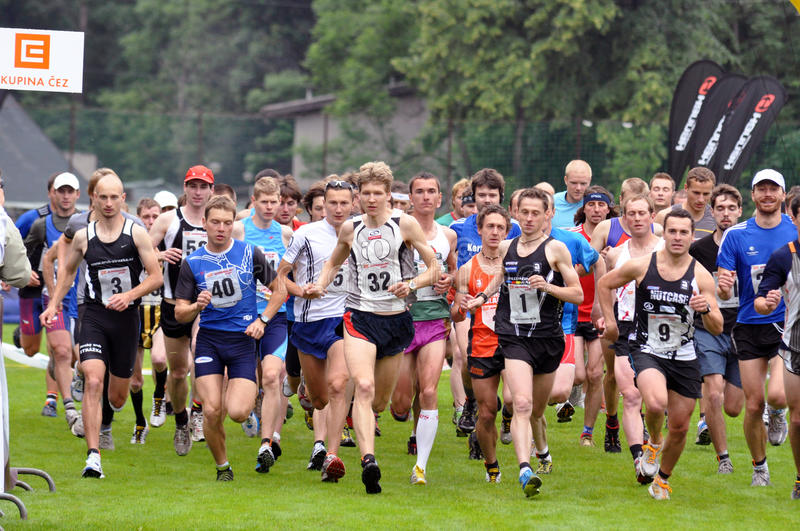 Download Adrenalin Cup 2010, Runners On Start, 2010 Editorial Stock Photo - Image: 24185058
