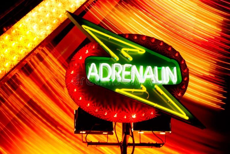adrenalina znak zdjęcia stock