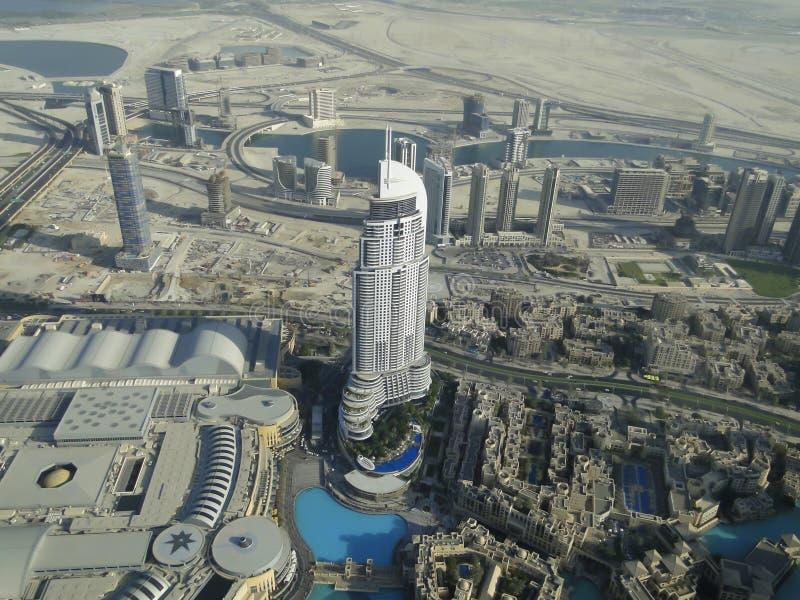 Adres de stad in, Doubai, Verenigde Arabische Emiraten stock foto's